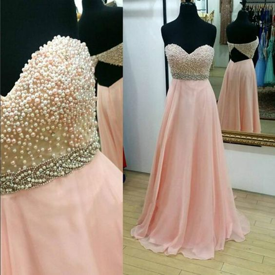 Charming Evening Dress, Long Evening Gown, A Line Sweetheart Prom Dress, Evening Dress