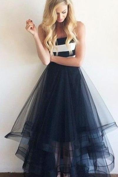 Glamorous Ball Gown, Lace, Puffy Organza, Floor Length, Long, Sexy, Backless, Prom Dresses